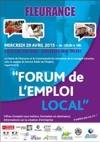 Forum emploi local